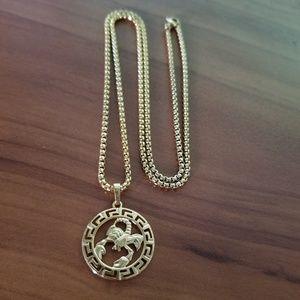 Scorpio Zodiac Sign Necklace